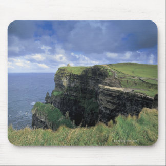 panoramic view of a cliff by the seaside mouse pad