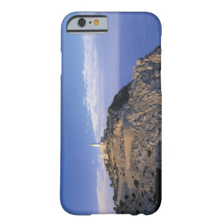 panoramic view of a light house on a cliff barely there iPhone 6 case