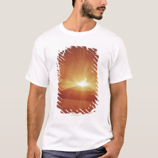 panoramic view of a sunrise T-Shirt