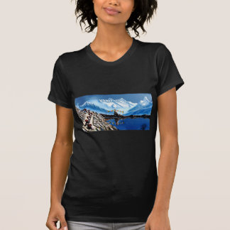 Panoramic View Of Annapurna Mountain Nepal T-Shirt