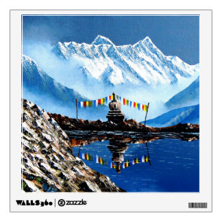 Panoramic View Of Annapurna Mountain Nepal Wall Decal