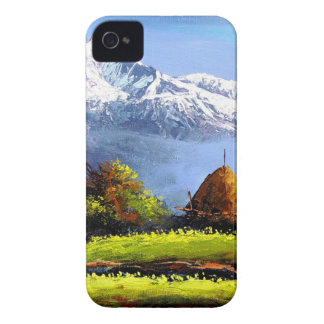 Panoramic View Of Beautiful Everest Mountain iPhone 4 Cover