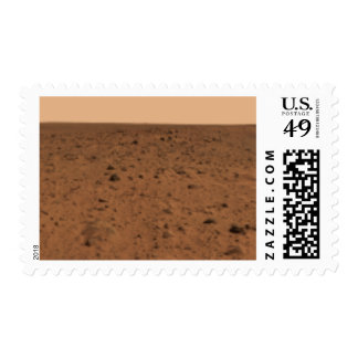 Panoramic view of Bonneville Crater Postage