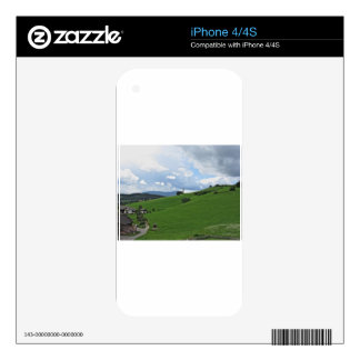 Panoramic view of Castelrotto Skins For iPhone 4