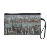 Panoramic view of Constantinople, late 18th centur Wristlet Purses
