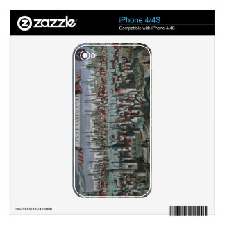 Panoramic view of Constantinople, late 18th centur Decal For The iPhone 4S