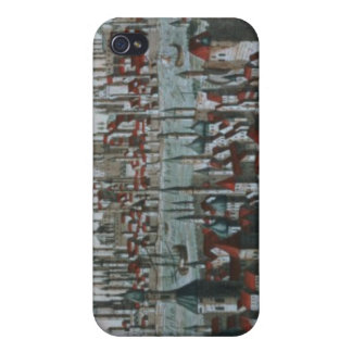 Panoramic view of Constantinople, late 18th centur iPhone 4 Cases