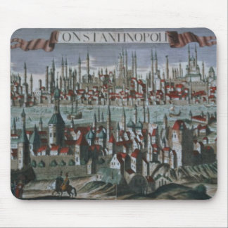 Panoramic view of Constantinople, late 18th centur Mouse Pad