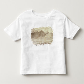 Panoramic View of Derwentwater and the Vale of Kes Toddler T-shirt
