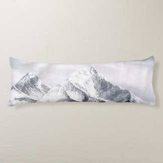 Panoramic View Of Everest Mountain Body Pillow