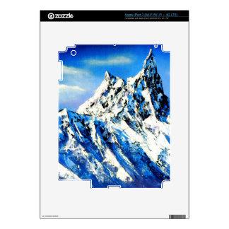 Panoramic View Of Everest Mountain Peak iPad 3 Decals