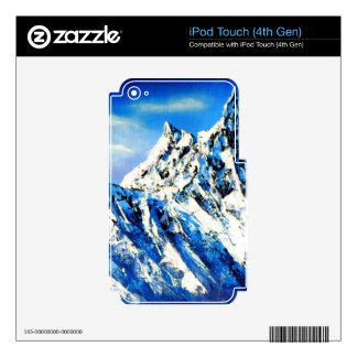 Panoramic View Of Everest Mountain Peak iPod Touch 4G Skin