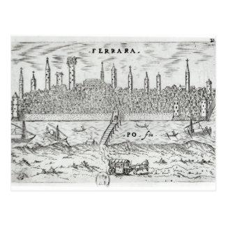 Panoramic view of Ferrara Post Cards