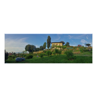 Panoramic view of Florence Poster