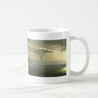 Panoramic view of future New York City Coffee Mug