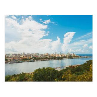 Panoramic View Of Havana, Cuba Postcard