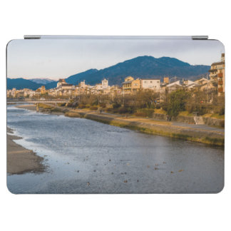 Panoramic view of Kamo River in Kyoto iPad Air Cover