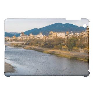 Panoramic view of Kamo River in Kyoto iPad Mini Cover