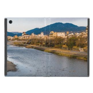 Panoramic view of Kamo River in Kyoto iPad Mini Covers