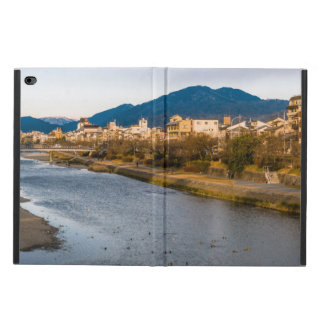 Panoramic view of Kamo River in Kyoto Powis iPad Air 2 Case