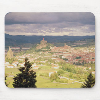 Panoramic view of Le-Puy-en-Velay Mouse Pad