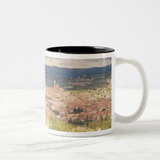 Panoramic view of Le-Puy-en-Velay Coffee Mug