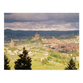 Panoramic view of Le-Puy-en-Velay Postcard