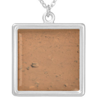 Panoramic view of Mars 10 Silver Plated Necklace
