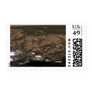 Panoramic view of Mars 3 Postage Stamp
