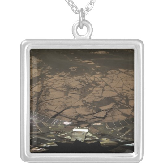 Panoramic view of Mars 3 Silver Plated Necklace