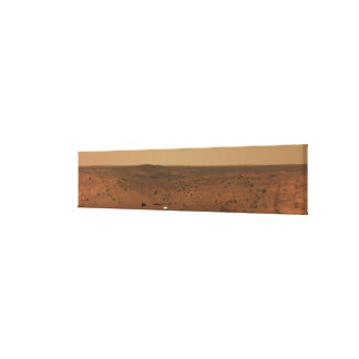 Panoramic view of Mars 4 Gallery Wrap Canvas