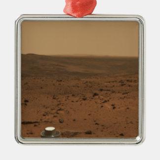 Panoramic view of Mars 4 Metal Ornament
