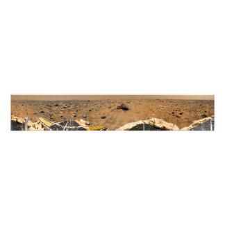 Panoramic view of Mars 5 Art Photo