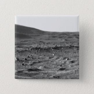 Panoramic view of Mars 6 Pinback Button