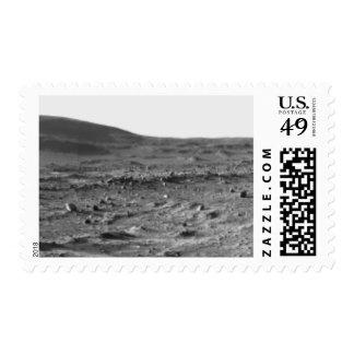 Panoramic view of Mars 6 Stamp