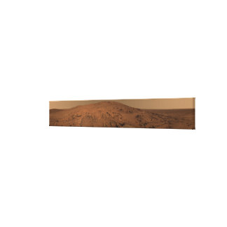 Panoramic view of Mars 7 Canvas Prints