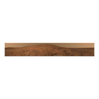 Panoramic view of Mars 7 Photo Print