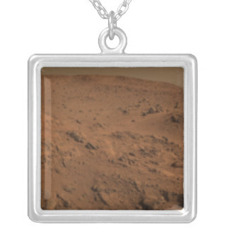 Panoramic view of Mars 7 Silver Plated Necklace