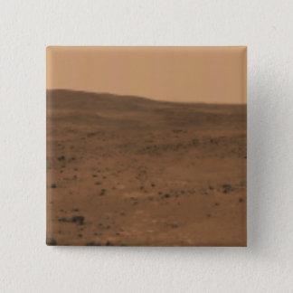 Panoramic view of Mars 8 Pinback Button