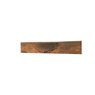 Panoramic view of Mars 9 Canvas Print