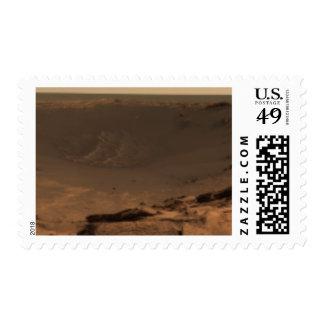 Panoramic view of Mars 9 Postage