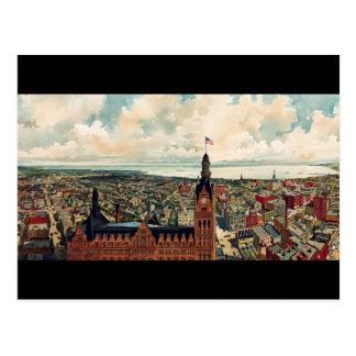 Panoramic view of Milwaukee Wisconsin Post Cards