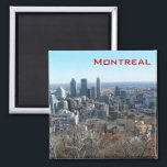 """Panoramic view of Montreal Magnet<br><div class=""""desc"""">Panoramic view of Montreal,  Quebec,  Canada</div>"""