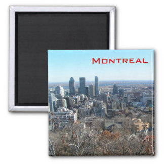 Panoramic view of Montreal Magnet
