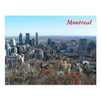 Panoramic view of Montreal Postcard