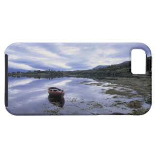 panoramic view of mountains and lake 3 iPhone 5 cover