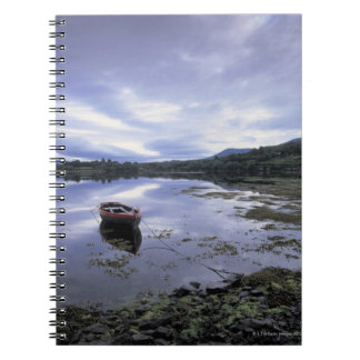 panoramic view of mountains and lake 3 notebook