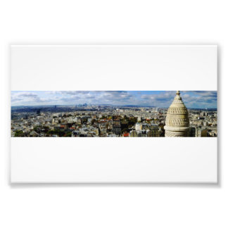 Panoramic View of Paris From Montmartre Photo Print