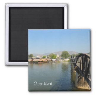 Panoramic view of river Kwai Magnet