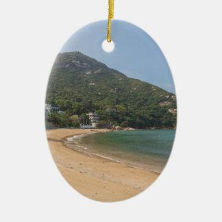 Panoramic view of Sok Kwu Wan Lamma Island Ceramic Ornament